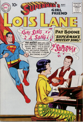 Superman's Girlfriend Lois Lane #9. Click for current values.