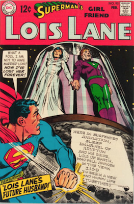 Superman's Girlfriend Lois Lane #90. Click for current values.