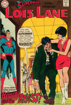 Superman's Girlfriend Lois Lane #91. Click for current values.