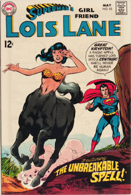 Superman's Girlfriend Lois Lane #92. Click for current values.
