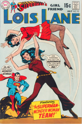 Superman's Girlfriend Lois Lane #93. Click for current values.