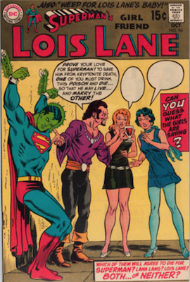 Superman's Girlfriend Lois Lane #96. Click for current values.
