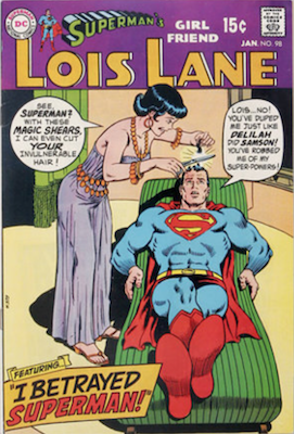 Superman's Girlfriend Lois Lane #98. Click for current values.