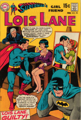 Superman's Girlfriend Lois Lane #99. Click for current values.