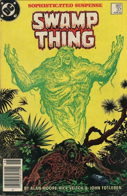 Saga of the Swamp Thing #37 (1985): First Appearance, Hellblazer (John Constantine). Click for value