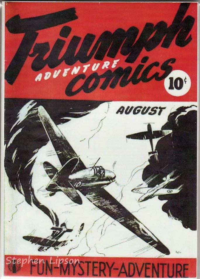 Hillborough Studio Triumph Adventures Comics #1