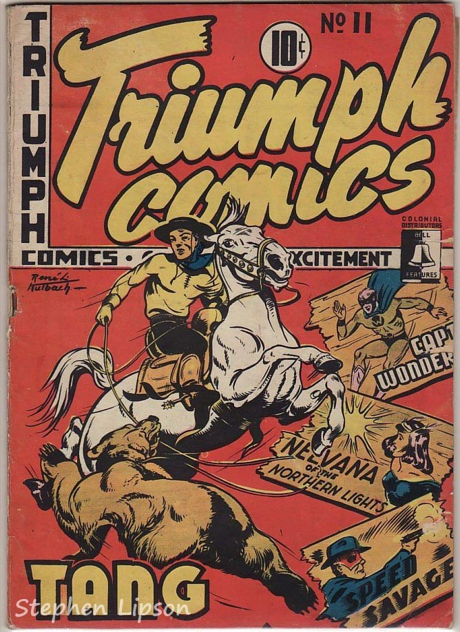Bell Features Triumph Comics #11