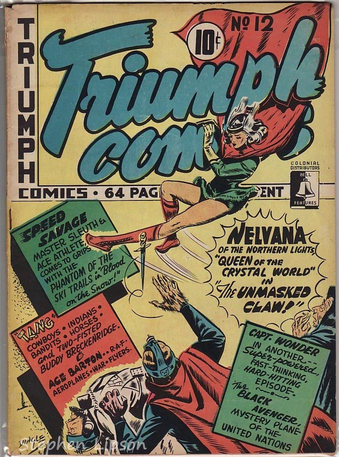 Bell Features Triumph Comics #12