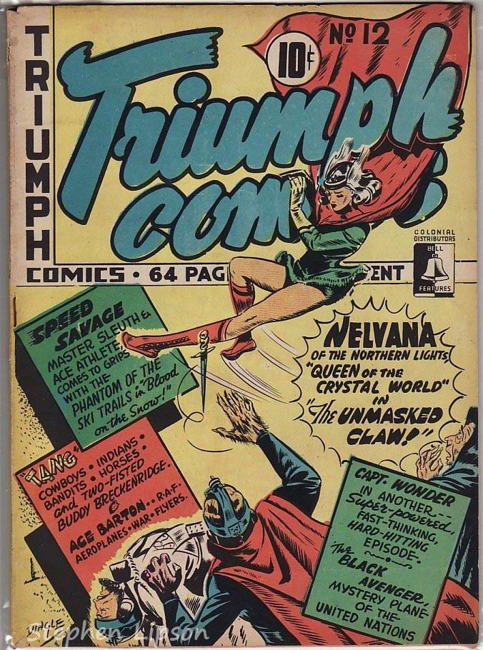Bell Features Triumph Comics #12