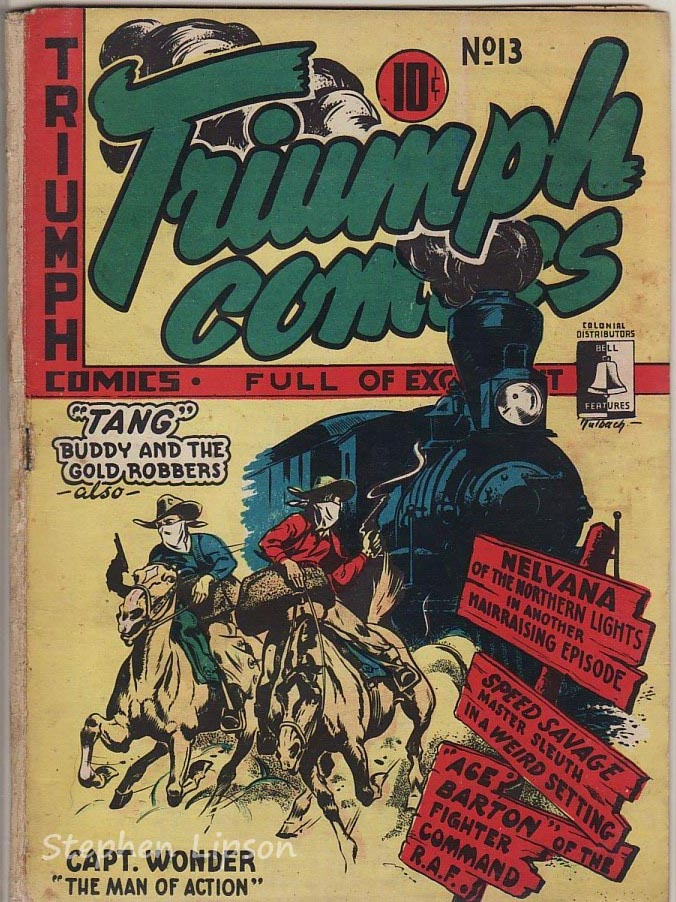 Bell Features Triumph Comics #13
