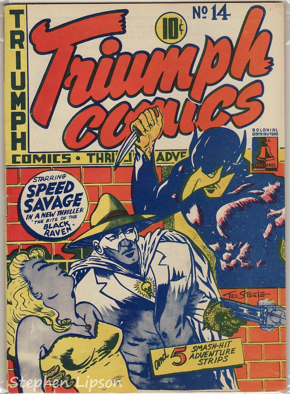 Bell Features Triumph Comics #14
