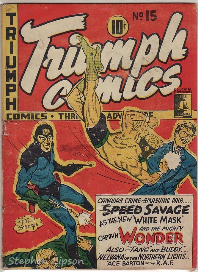 Bell Features Triumph Comics #15