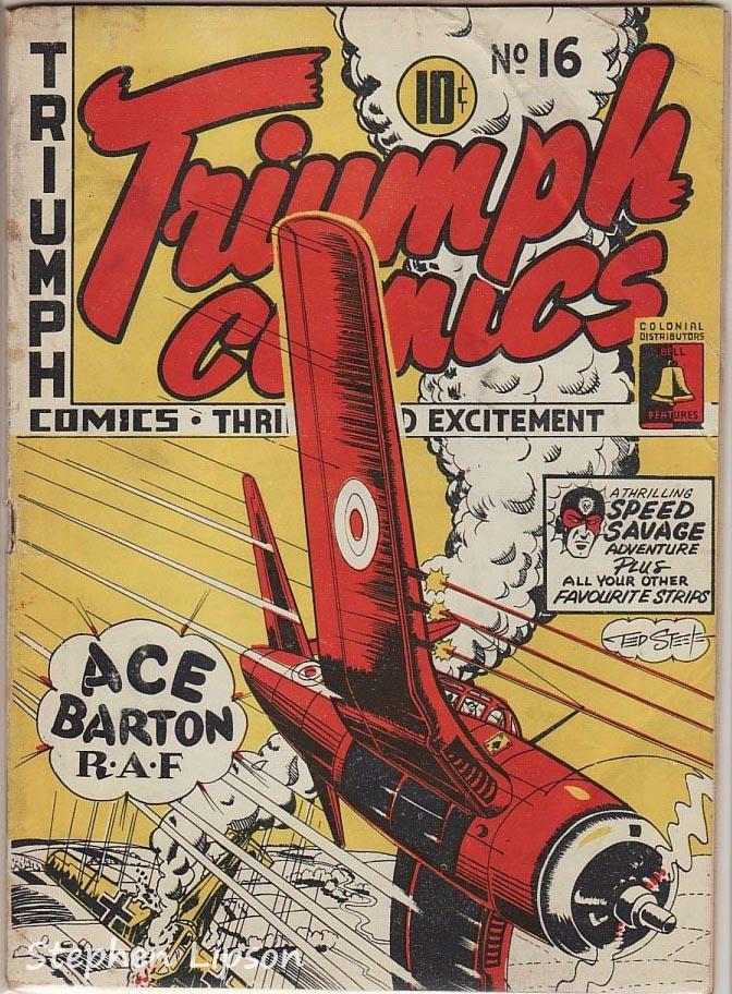Bell Features Triumph Comics #16