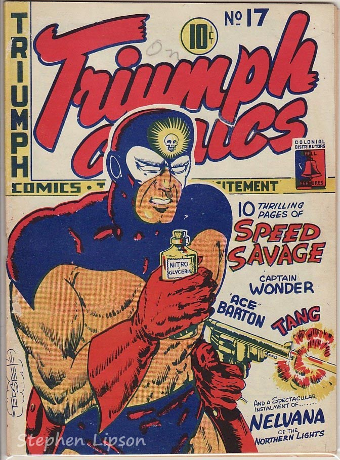 Bell Features Triumph Comics #17