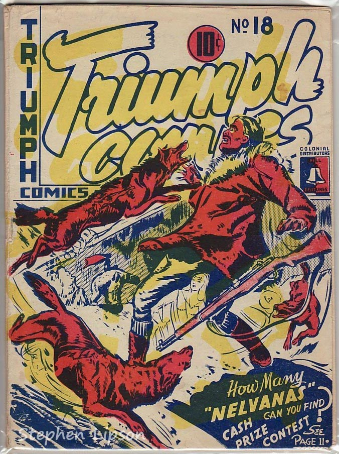 Bell Features Triumph Comics #18