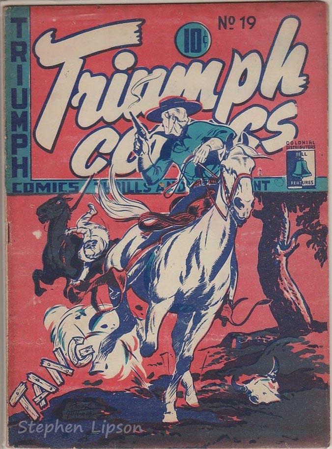 Bell Features Triumph Comics #19