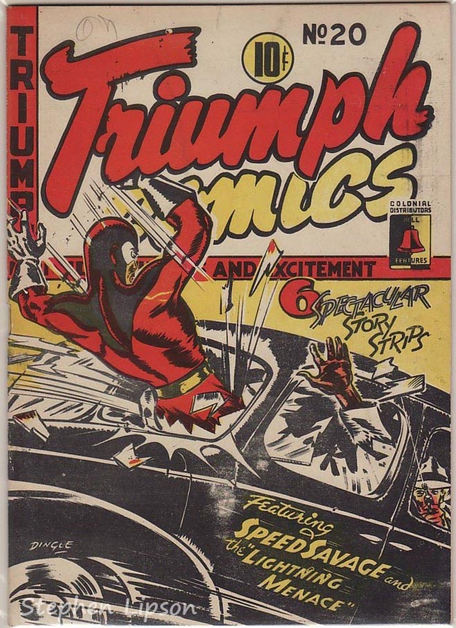 Bell Features Triumph Comics #20