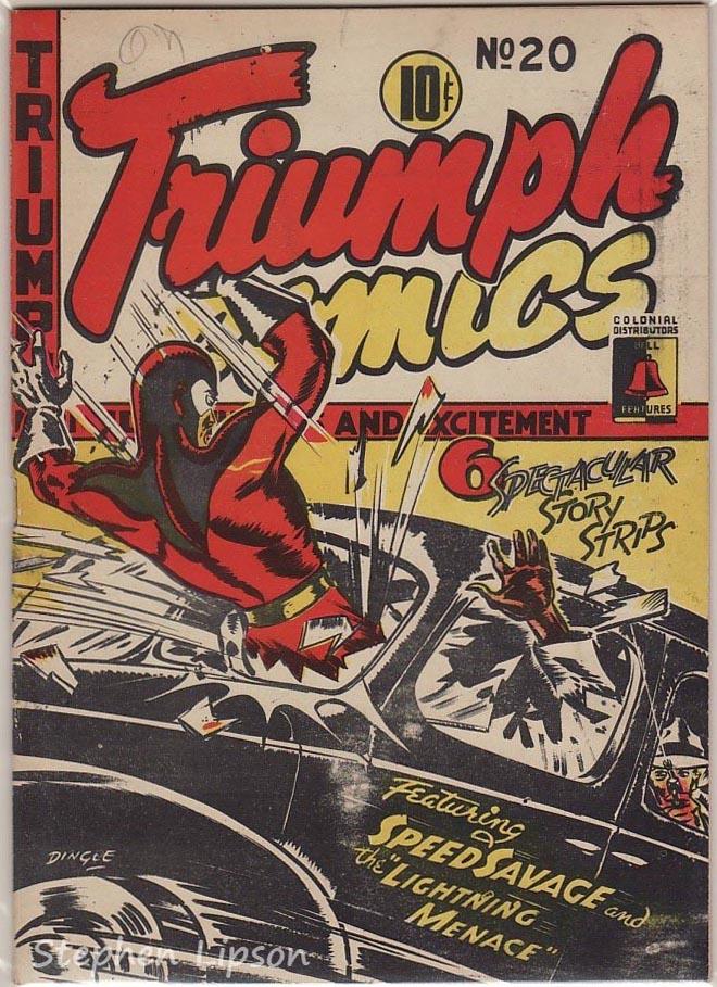 Bell Features Triumph Comics #20