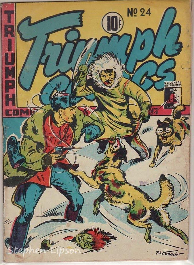 Bell Features Triumph Comics #24