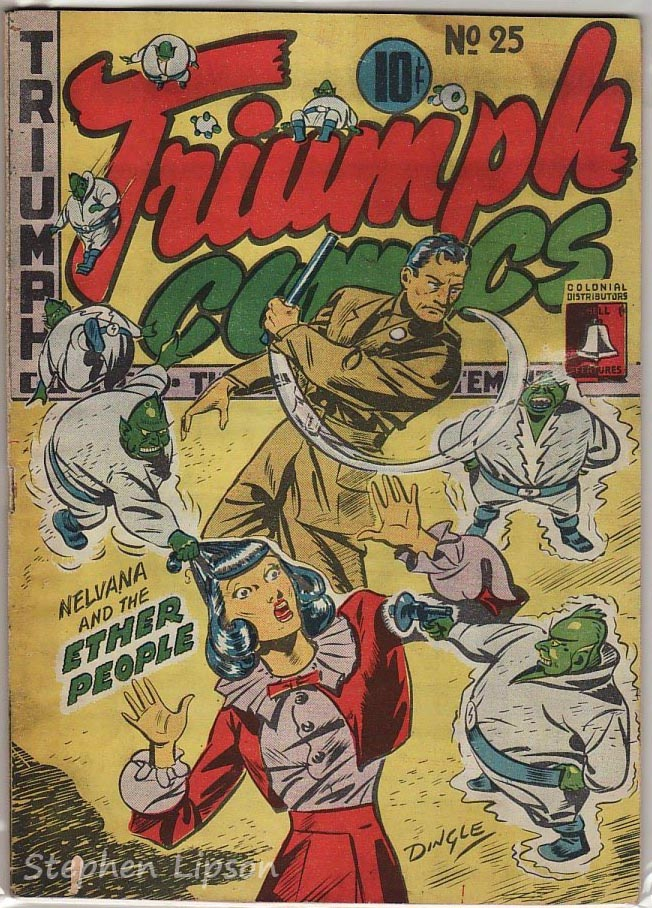Bell Features Triumph Comics #25