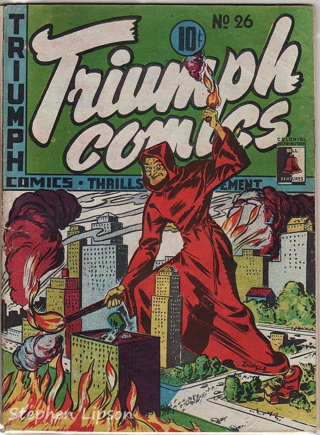 Bell Features Triumph Comics #26