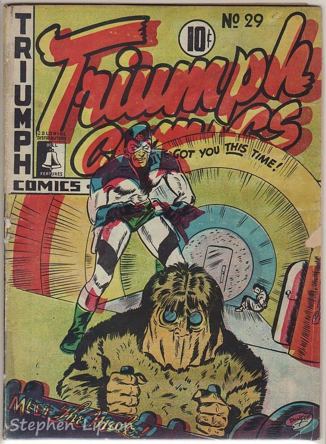 Bell Features Triumph Comics #29