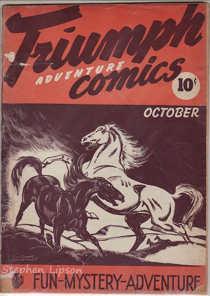 Triumph Adventures Comics #3