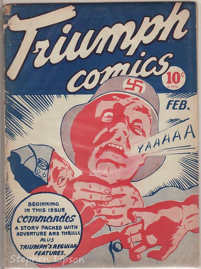 Triumph Adventures Comics #6