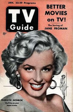 TV guide Volume 6 #4: New York edition: Marilyn Cover. Click for values