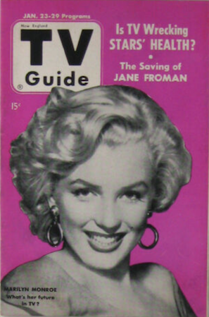 TV guide Volume 6 #4: New England edition: Marilyn Cover. Click for values