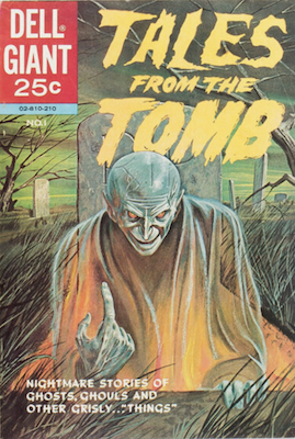 Tales from the Tomb #1 (1962). Dell Comics. Click for values
