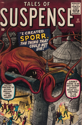 Tales of Suspense #11. Click for current values.