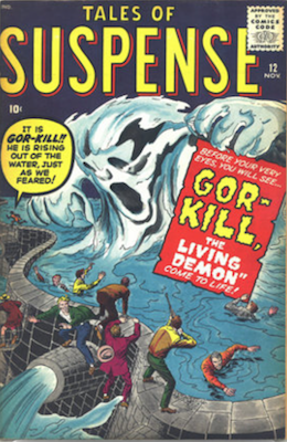 Tales of Suspense #12. Click for current values.