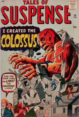 Tales of Suspense #14. Click for current values.