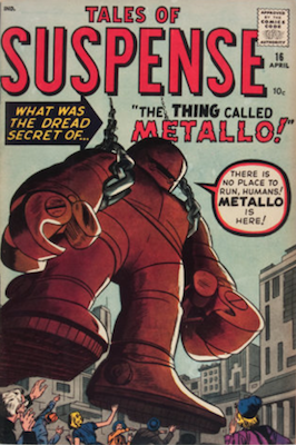 Tales of Suspense #16. Click for current values.