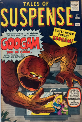 Tales of Suspense #17. Click for current values.