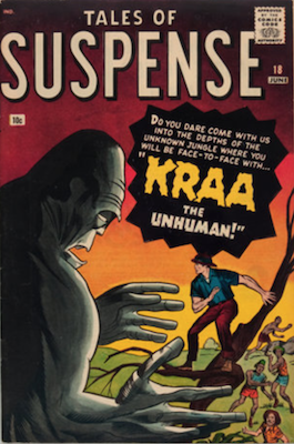 Tales of Suspense #18. Click for current values.