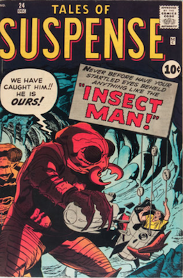 Tales of Suspense #24. Click for current values.