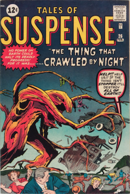 Tales of Suspense #26. Click for current values.