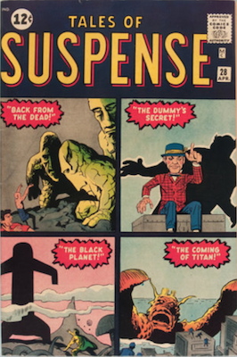Tales of Suspense #28. Click for current values.