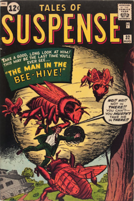 Tales of Suspense #32. Click for current values.