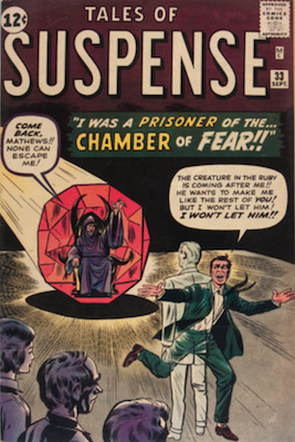 Tales of Suspense #33. Click for current values.