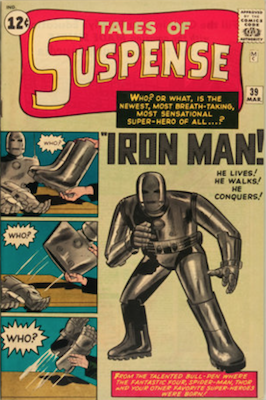 Tales of Suspense #39. Click for current values.
