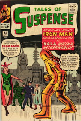 Tales of Suspense #43. Click for current values.
