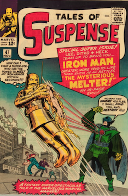 Tales of Suspense #47. Click for current values.