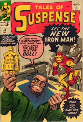 Tales of Suspense #48. Click for current values.