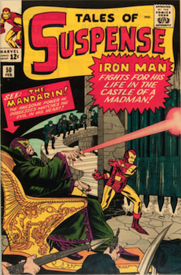 Tales of Suspense #50. Click for current values.