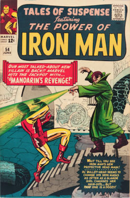 Tales of Suspense #54. Click for current values.