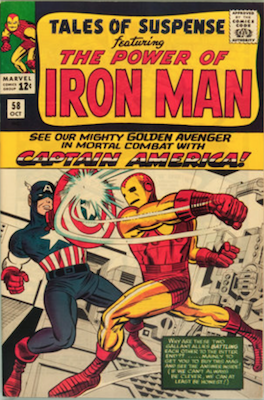 Tales of Suspense #58. Click for current values.