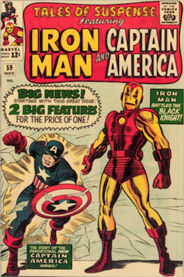 Tales of Suspense #59. Click for current values.